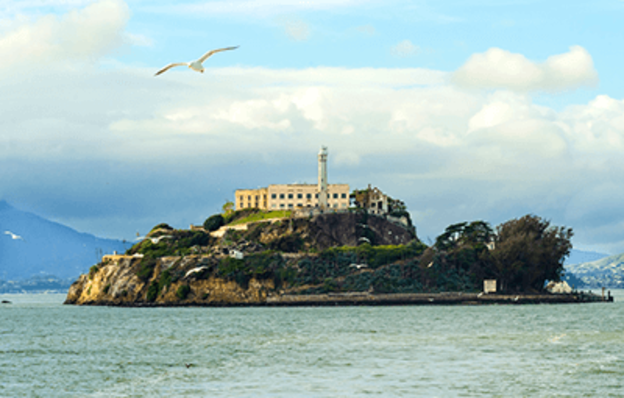 Bilde Alcatraz fengselsøya